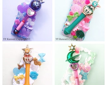 Sailor moon rod decoden phonecase for iphones, samsung, HTC and more