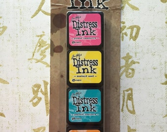 Tim Holtz Distress Mini Ink Pad Set #1