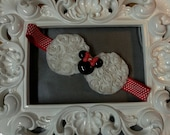 Minnie Mouse Bow Headband  for girls