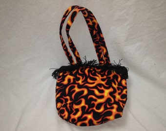 flame / fire purse