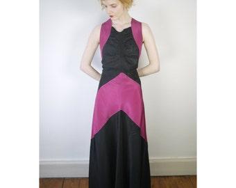 Orginal 1940s evening gown