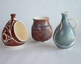 3 Pieces of Aviemore Pottery Made in Scotland