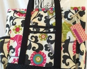 Kitchen Sink Tote/ Professional Tote/ Carry On/Multi-purpose bag