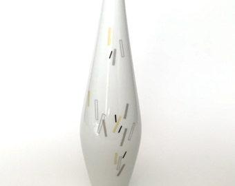 Vintage Op Art Vase Heinrich & Company Selb Bavaria Germany