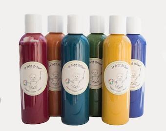Natural Paint, Non Toxic Paint Set, Natural Paints For Kids