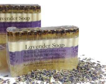 Lavender Soap, Lavendar Soap, Womens Soap, Natural Soap, Hand and Body Soap, Lotions and Potions