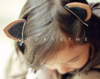 Adorable Cat Ear Hair Clip Kids Hair Accessories