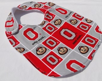 Ohio State University Buckeyes Bibs - Made to Order - OSU Football