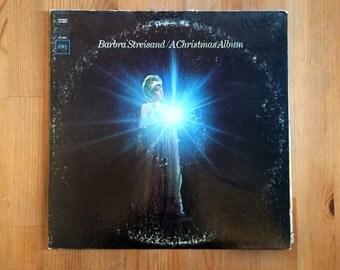 "Barbra Streisan – A Christmas Album (1967) Vintage Vinyl 12"""