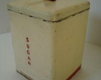 Vintage Sugar Canister