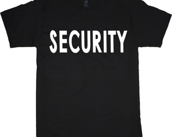 Big and Tall Tee / Security design