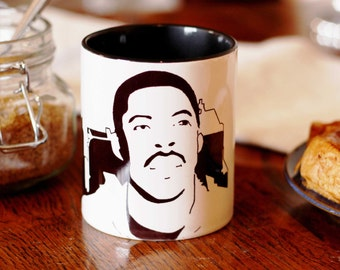 Ernie Hudson, Winston Zeddemore, Ghostbusters, Hand Crafted Cup