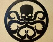 Hydra Metal wall art