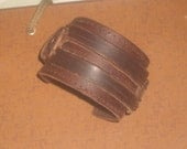 Vintage MENS LEATHER CUFF