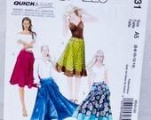 McCall's Women's Skirt Pattern M5431-Size 6 thru 14