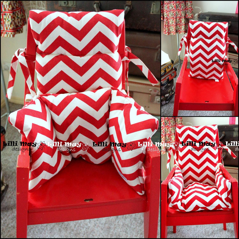 blames high chair two piece cushion set in premium no mess