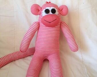 Large sock monkey
