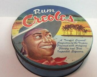 Rum Creoles Tin