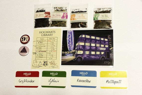 Harry Potter Fandom Holiday Gift Bundle by Black Out Art
