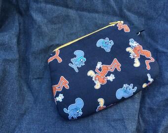 Rocky & Bullwinkle Wristlet/coin purse