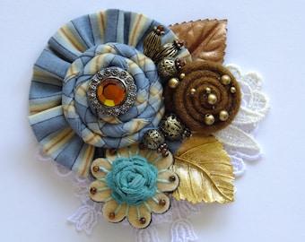 Style #2 Bohemian Flower Brooch