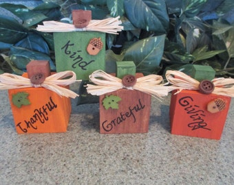 Mini Pumpkins! place card holders, party favor, hostess gift