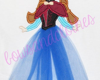 Ice Princess Frozen Inspired Custom Shirt - Customizable -  Infant to Youth 84