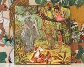 Vintage Jigsaw Puzzle 64 Piece Walt Disney Jungle Book