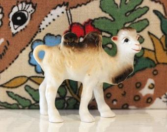Vintage Camel Cute Kitsch Porcelain China