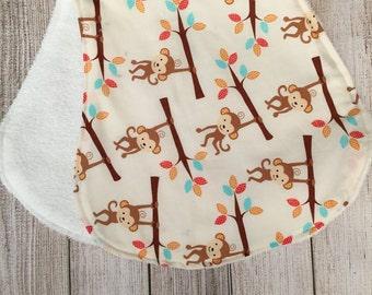 Monkey Burp Cloth