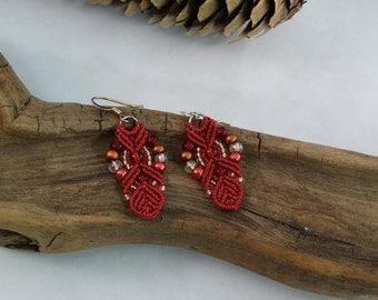 Royally Rich in Red earrings