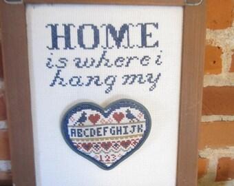Home Heart Sampler