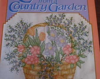 Cross-stitch from a Country Garden