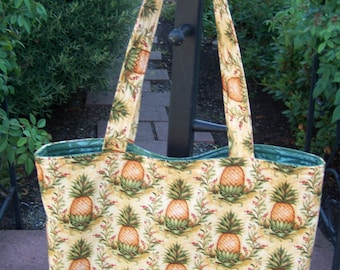 Yummy Pineapple Tote Bag