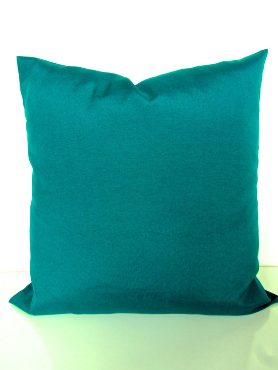 Blue And Brown Outdoor Throw Pillows : TEAL THROW PILLOWS Turquoise Teal Blue Outdoor Pillow Covers