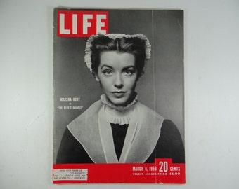 "1950 Life Magazine, March 6,  Marsha Hunt in ""The Devil's Disciple"""