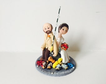 rock climbing wedding cake toppers climbing cake topper etsy 19248