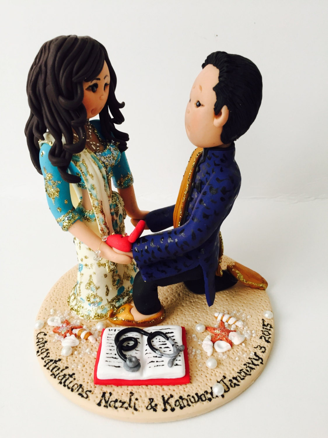 indian wedding cake toppers bride and groom uk personalised asian indian sikh hindu muslim amp groom 16425