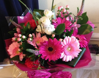 Hand Tied Bouquet with next day delivery