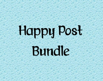Happy Post Sticker Bundle - Perfect for pen pals