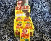 Fleer 1990 Vintage NBA Basketball Trading Cards. One Unopened Pack of Fleer NBA Basketball Cards Early 90s. Michael Jordan Larry Bird
