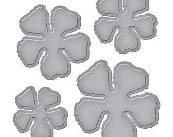 Spellbinders - Shapeabilities - Tammy Tutterow - Shabby Posies