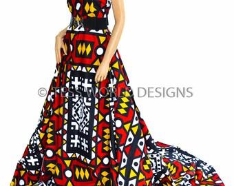 Wholesale African fabric/ Ankara fabric/ Angolan Samacaca/ Tribal Print Fabric/ African Clothing/Ankara Wax Print / 6 yards  WP396