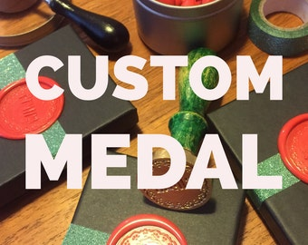 Custom Medal -  award a loved one for their unique talents - birthday badge, birthday button, congratulations, achievement gift, tournament