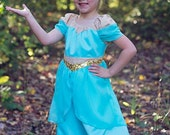 Jasmine Romper and Dress everyday princess PDF Pattern instant download 1/2-8