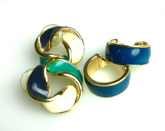 Classic Chic 80s Post Earrings