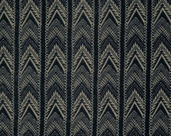 SALE Black Fabric Felucca by Parson Gray Free Spirit Fabric Black Fabric - Black and Taupe Fabric Herringbone Taupe  Quilt Masculine Fabric