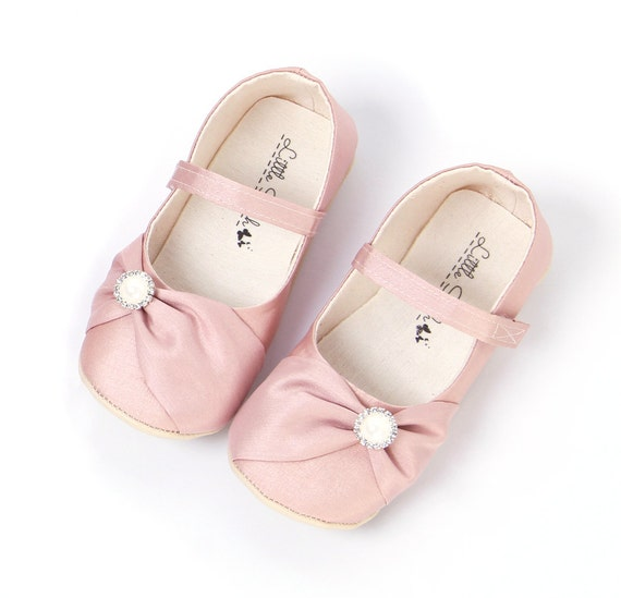 wedding flower girl shoes blush wedding shoes shoes flower shoes by 9504