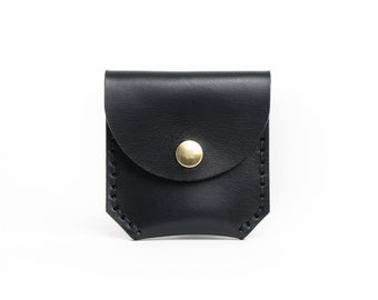 Leather Coin Case | Black