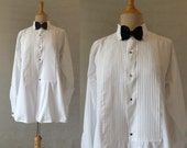 Valentines Date - Man's Pleat Front Dress Shirt